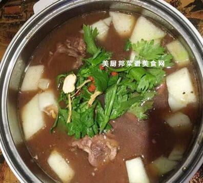 火锅新闻食谱大全--驻马店春笋--驻马店广视网咸肉羊肉汤图片