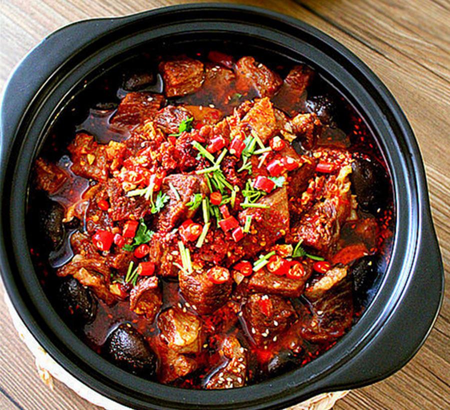 牛肉火锅的9步制作方法