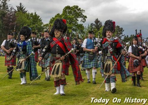 苏格兰格子文化 苏格兰格子的运用