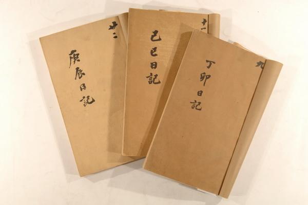 帝师翁同藏书原件展出 含珍稀文献日记信件