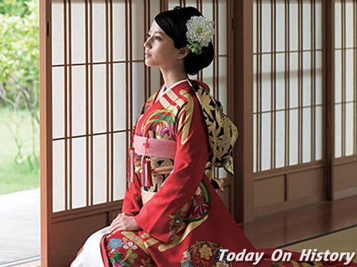 网丑女>起源历史是日本的民族服饰,其正文可追溯到公元前3和服世纪生聊天图片