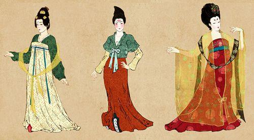 日本服饰带风景图片