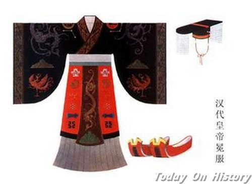 汉代服饰花纹颜色
