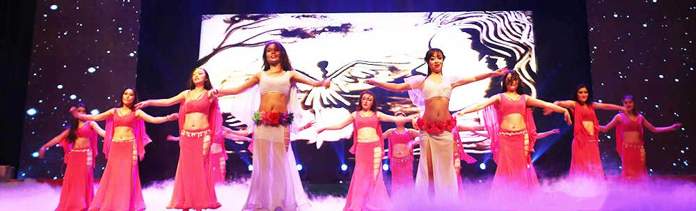 创意东方歌舞《涅槃之翼》 表演:尚姿女子舞蹈队