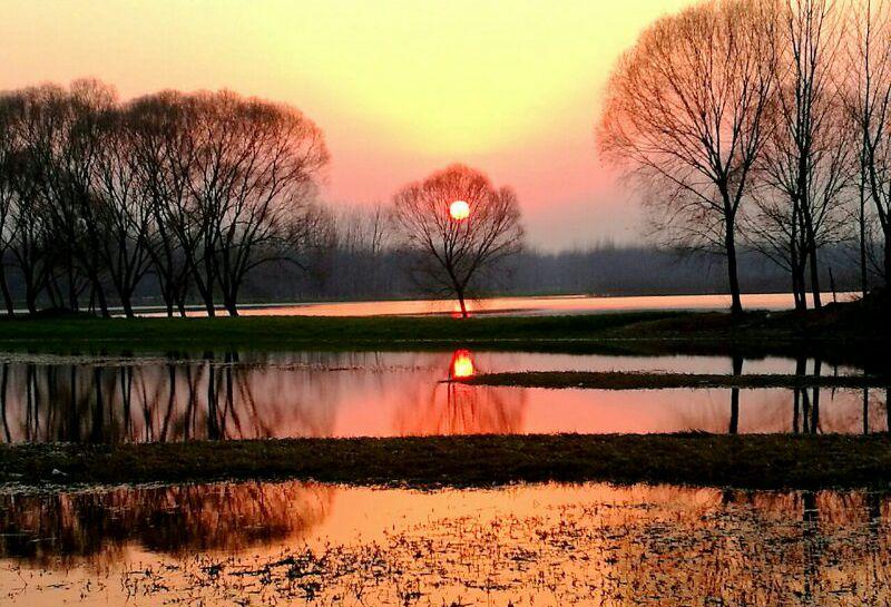 摄影人张斌镜头下《童话般的宿鸭湖》