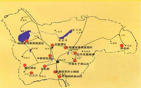甘肃柳园镇地图