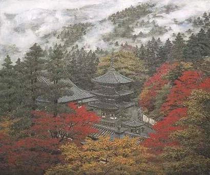 壁纸 风景 油画 410_342