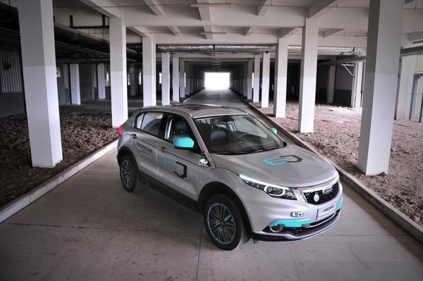 观致5 suv,观致 5 suv纯电动概念车荣获德国设计大奖