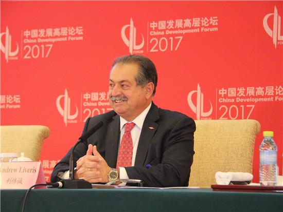 陶氏化学公司董事长、首席执行官利伟诚