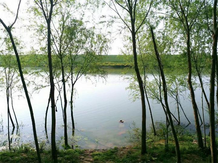 明清古寨,藏在汝河故道里的桃花源——汝南老刘寨