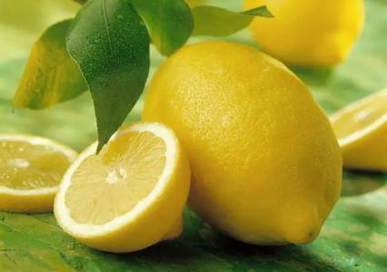 多吃柠檬可美容延缓衰老
