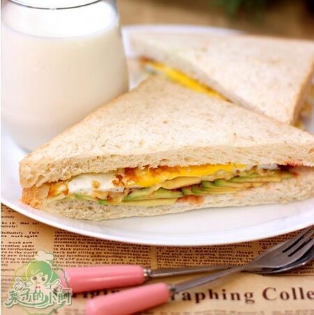 牛油果三明治的做法步骤7