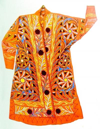 陆地丝绸之路上的刺绣文化