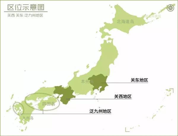 用23张地图看透日本