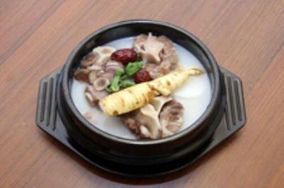 毛豆汤的牛尾诗句炒肉的做法有没有图片