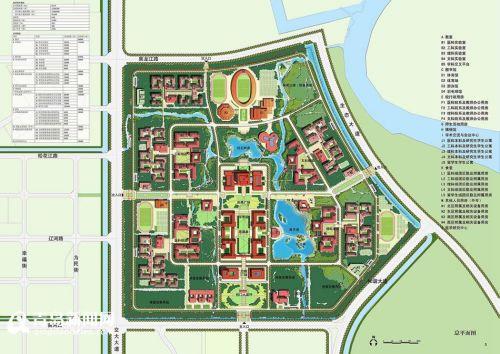 青岛大学胶州校区未来将建成这样 大图抢先看