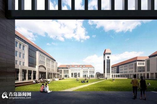 青岛大学胶州校区延续青岛独特的建筑风格
