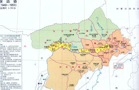 化德黄羊滩景区地图