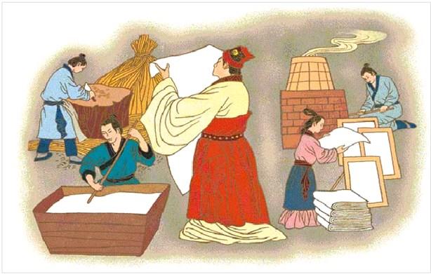 蔡伦造纸的故事 蔡伦发明造纸术过程揭秘