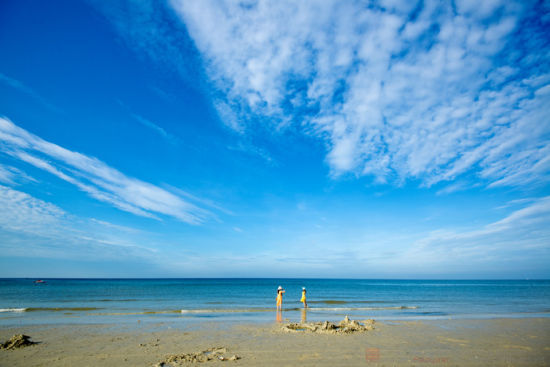 北海银滩面积超过大连,烟台,青岛,厦门和北戴河海滨浴场沙滩的总和,而