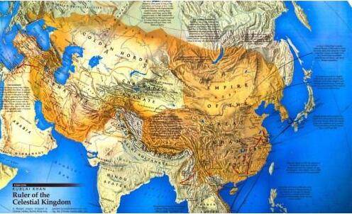 成吉思汗名为孛儿只斤·铁木真,他是古代蒙古的首领,在他的领导下蒙古