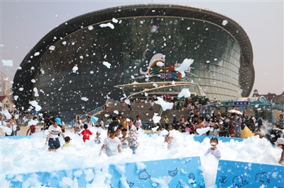 天津海昌极地海洋公园 冰爽活动开启--驻马店新闻--广