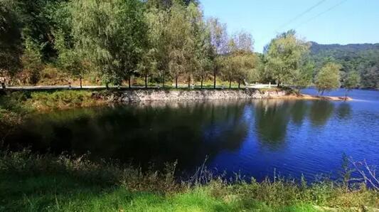 二涌泉竹林风景区 位于济南南部山区, 涌泉是济南七十二名泉之一