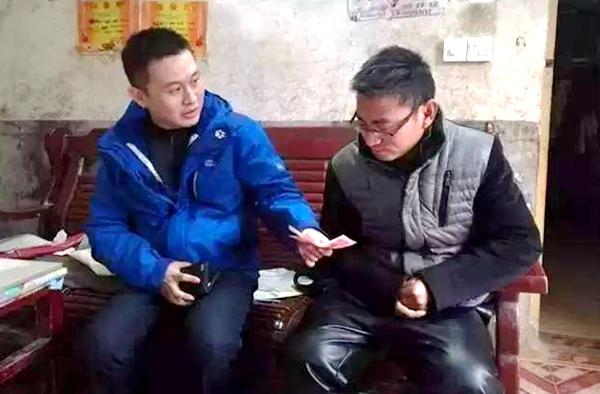 上蔡县吴宋村第一书记孔祥瑞:让贫困群众过上好日子是我的心愿