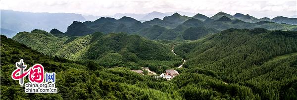 (四川省曾家山鸳鸯池森林公园,森林覆盖率高达98%以上.钟卫东 摄)