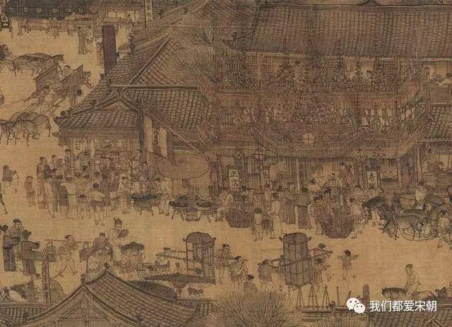 《清明上河图》其实就是北宋开封府的美食地图图片