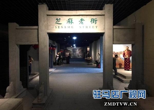 平舆县大王寨村平舆县蓝天农业开发有限公司投资创建的蓝天芝麻小镇