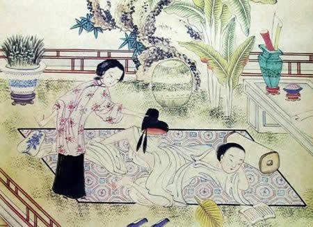 唐伯虎画作赏析 看春宫图有多黄图片