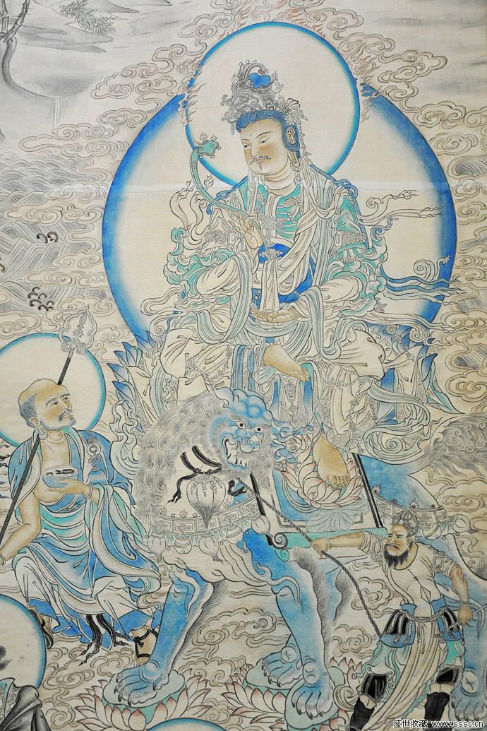 精美的敦煌壁画图片