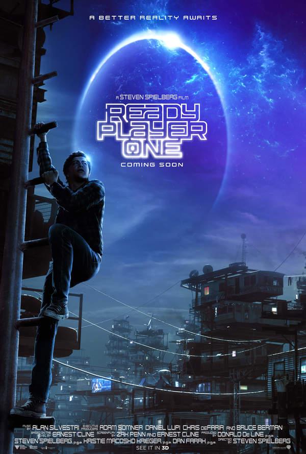 《头号玩家》斯皮尔伯格再战科幻片 揭秘未来世界