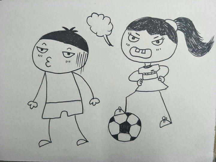 上学记:浙江缙云一小学美术老师手绘漫画记录7岁女儿的温馨日常
