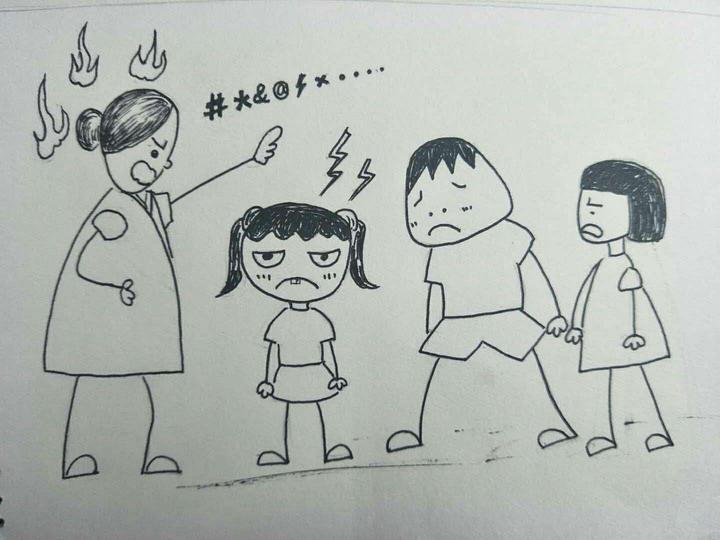 上学记:浙江缙云一小学美术老师手绘漫画记录7岁女儿的温馨日常图片