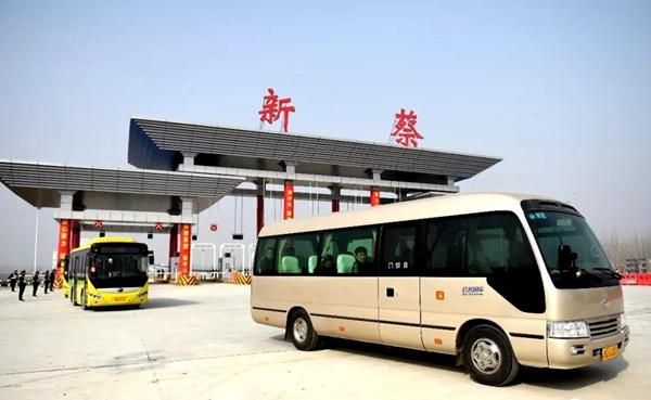 大广高速新蔡西收费站正式通车 新蔡再添一高速出口