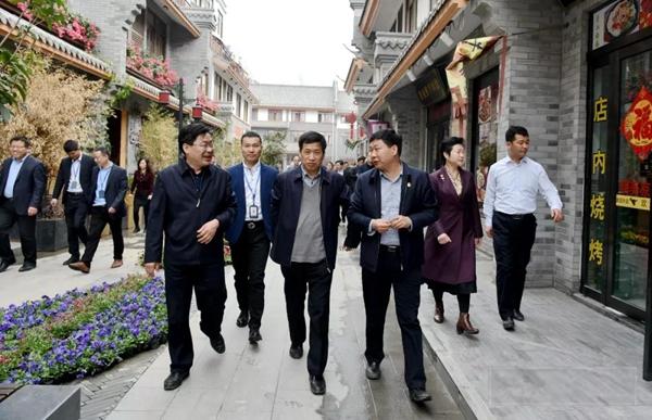 张宪中深入新蔡县调研百城建设提质工程