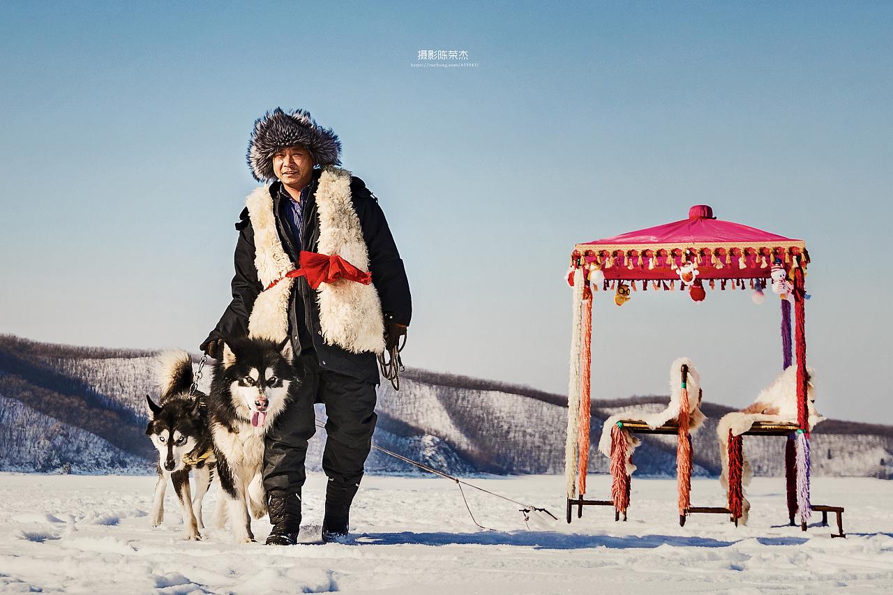 冬日镜泊湖 摄影师:无悔人生