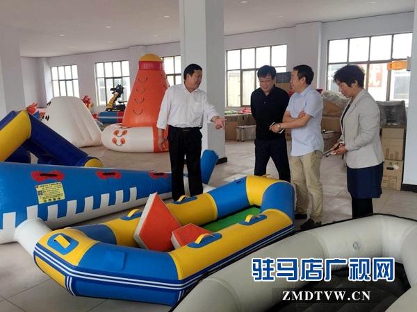 【新时代 幸福是奋斗出来的】余泽华:让气模游乐设备远销往海外