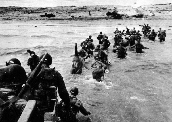 盘点美军史上十场最激烈战斗:诺曼底登陆伤亡最惨重