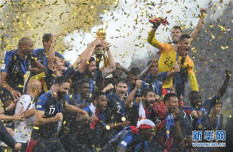 青春风暴席卷俄罗斯 法国队20年后再捧杯