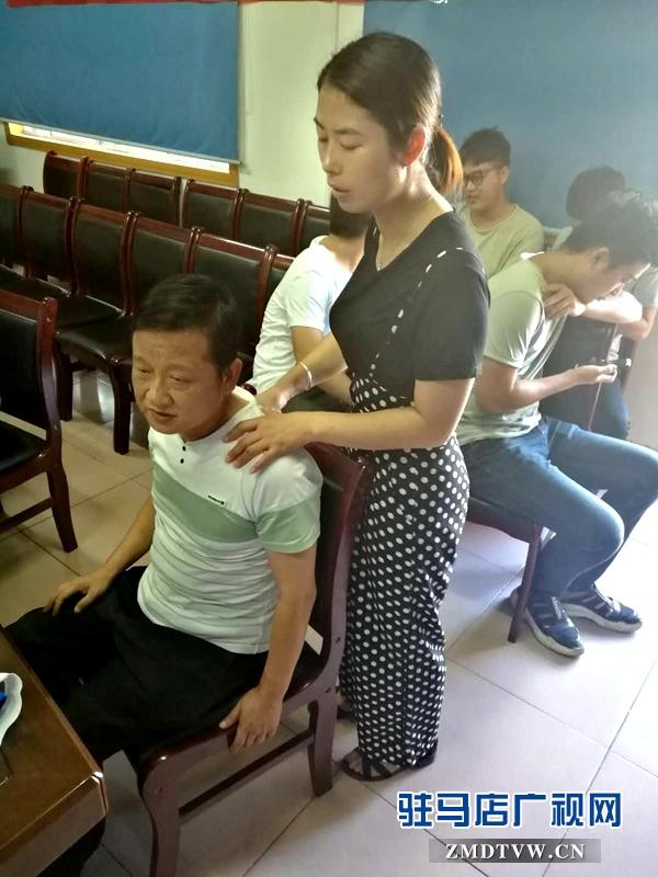 雪松派出所:携手中医义诊 关注民警健康