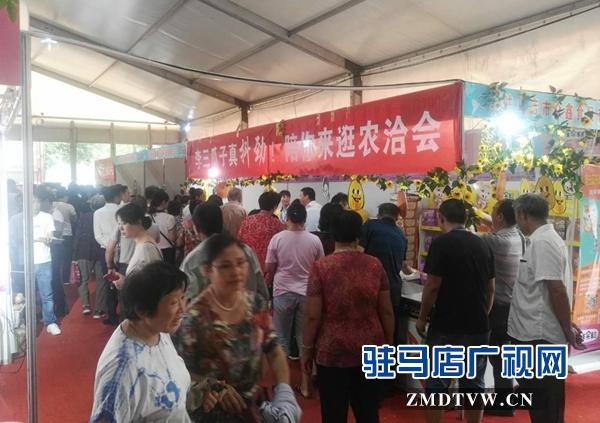 驻马店本土企业在中国农加工洽谈会上收获满满