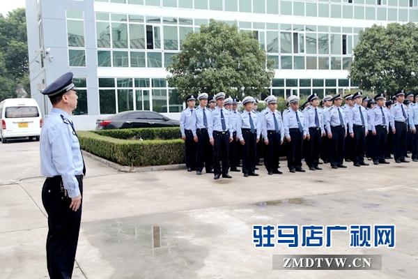 平舆县公安局开展反暴恐应急处置实战演练