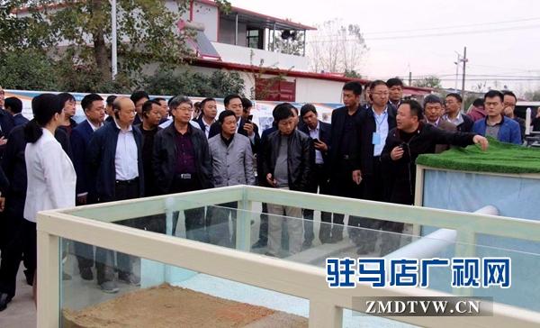 2018年河南省农村垃圾治理和公厕建设工作推进会议在驻马店召开