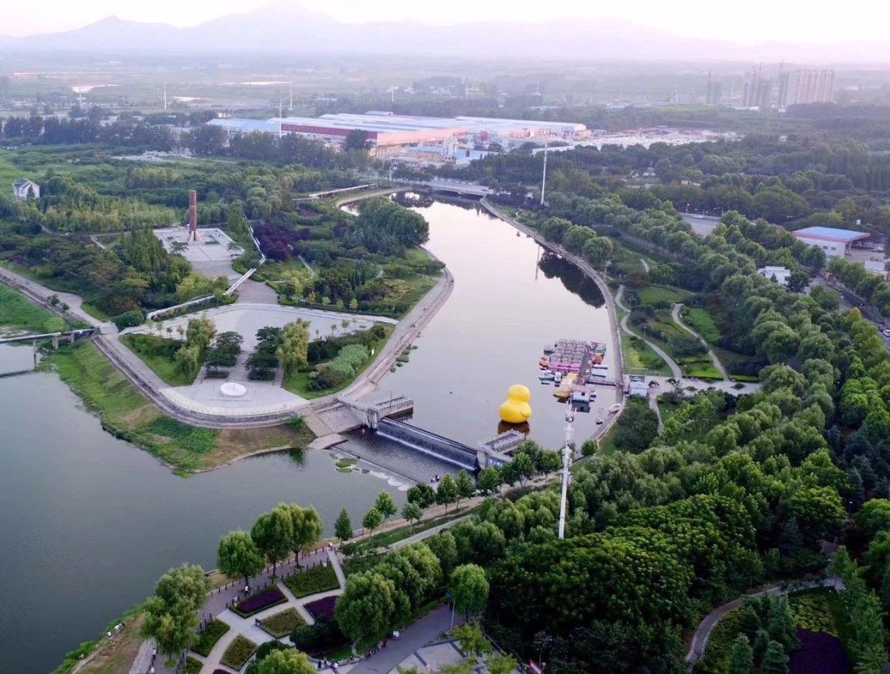 免费对外开放!驻马店市区再添一大型公园!吊桥、亭台楼阁、大型广场…