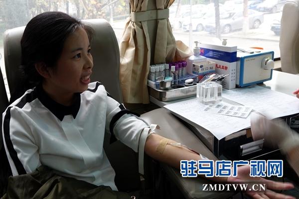 黄淮千名学子参与无偿献血共度世界学生日
