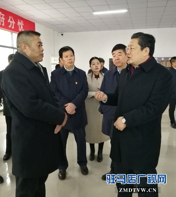 朱是西到正阳县调研指导国家现代农业产业园发展工作
