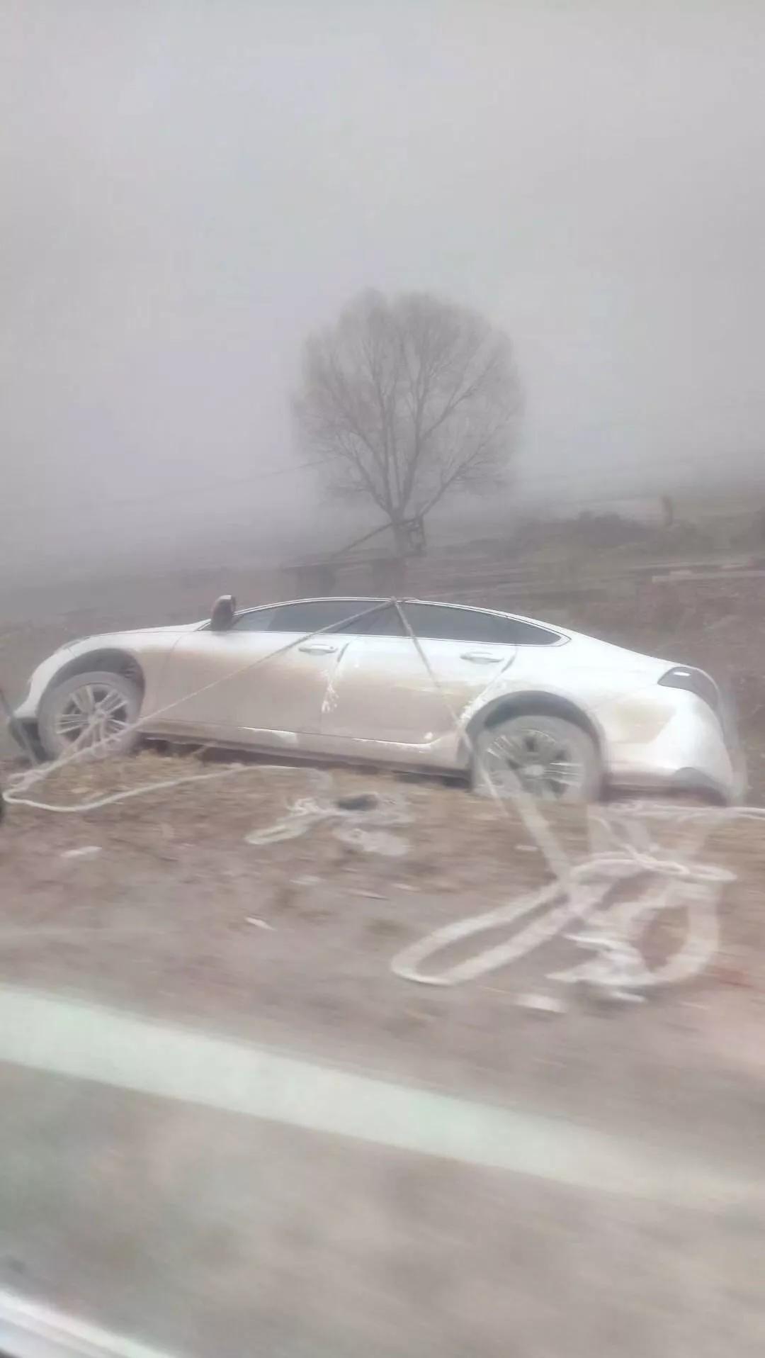 大雾锁城!驻马店一车主将车开进沟里...冷空气来消霾,新一轮雨雪已在路上